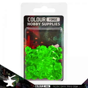 The Colour Forge   Acrylic Gems Acrylic Gems: Warp Glow - TCF-AG-0300 - 5060843100300