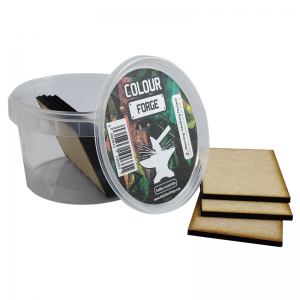 The Colour Forge   MDF Bases MDF Bases - 50x75 Square (10) - TCF-MDF-5075S - 5060843100461