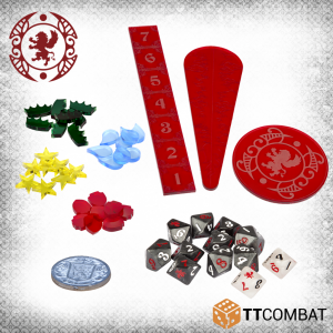 TTCombat Carnevale  Carnevale Carnevale: Gaming Accessories - TTCGX-ACC-004 - duplicate barcode DZC token set