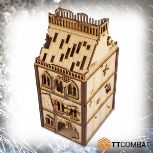 TTCombat   Sci Fi Gothic (28-32mm) Damaged Gothic Brownstone - TTSCW-SFG-050 - 5060570133930