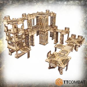 TTCombat   Industrial Hive (28-32mm) Sector 1 - Beta Complex - TTSCW-INH-060 - 5060570138256