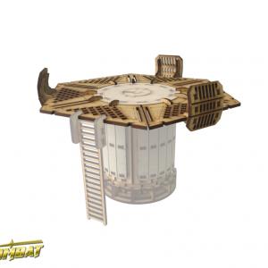 TTCombat   Industrial Hive (28-32mm) Sector 3 - Chem Vat Platform - INH022 - 5060504049047
