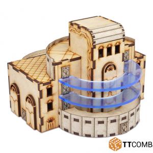 TTCombat   Sci Fi (15mm) Academy Building - TTSCW-SFX-010 - 5060570133299
