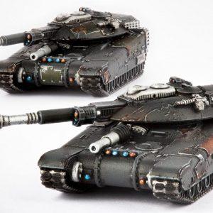 TTCombat   Resistance Land Vehicles Resistance M9 Hannibal / Mehmed Siege Tank - DZC-25013 - 740781772245