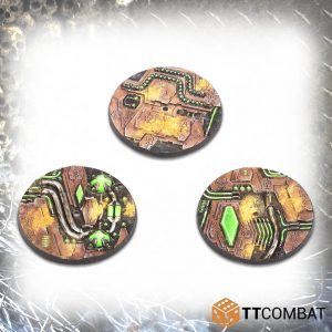 TTCombat   Tomb World 60mm Tomb World Flight Bases (3) - TTSCR-SFG-019 - 5060570139215