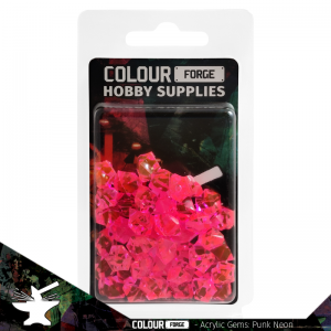 The Colour Forge   Acrylic Gems Acrylic Gems: Cyber-punk Neon - TCF-AG-0317 - 5060843100317