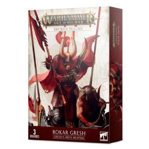 Games Workshop Age of Sigmar  Slaves to Darkness Broken Realms: Rokar Gresh - Gresh's Iron Reapers - 99120201116 - 5011921145393