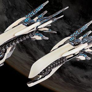 TTCombat Dropfleet Commander  Post-Human Republic Fleet PHR Cruiser Box - HDF-34002 - 740781772474