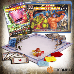 TTCombat   Rumbleslam Rumbleslam 2-Player Box (New Rulebook!) - RSG-START-01 - 5060504043489