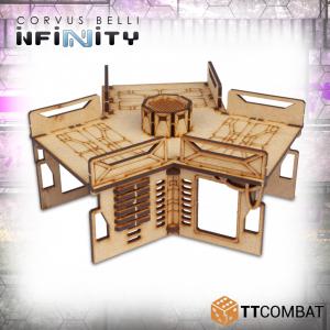TTCombat   Infinity Terrain (TTCombat) Tri Walkway - TTSCW-SFU-067 - 5060570135835