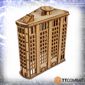 TTCombat   Sci Fi (15mm) Level Steel Building - TTSCW-SFX-054 -