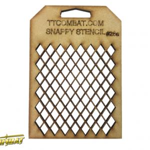 TTCombat   Snappy Stencils Small Diamonds - SST28A -