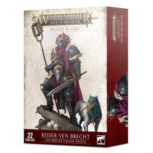 Games Workshop Age of Sigmar  Broken Realms Broken Realms: Keiser Ven Brecht – Ven Brecht's Black Watch - 99120218049 - 5011921145409