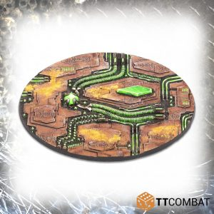 TTCombat   Tomb World Large Tomb World Bases (2) - TTSCR-SFG-021 - 5060570139239