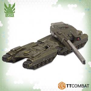 TTCombat Dropzone Commander  UCM Land Vehicles UCM Broadsword / Claymore - TTDZR-UCM-002 - 5060570136924