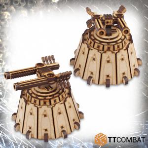 TTCombat   Sci Fi Gothic (28-32mm) Gun Silos - TTSCW-SFG-098 - 5060570137433