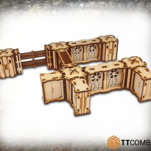 TTCombat   Industrial Hive (28-32mm) Iron Labyrinth Gamma - TTSCW-INH-048 - 5060570133466