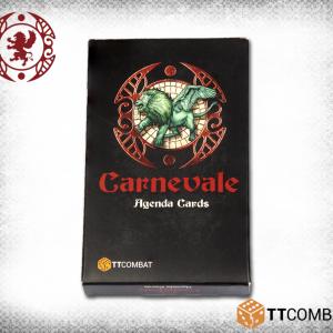 TTCombat   Carnevale Carnevale: Agenda Cards - TTC-CMGX-ACC-003 - 5060570132865