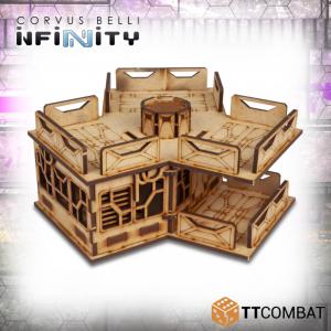 TTCombat   Infinity Terrain (TTCombat) Tri Building - TTSCW-SFU-066 - 5060570135828