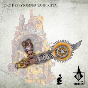 Kromlech   Orc Model Kits Orc Deffstomper Tank Rippa - KRTS149 - 5908291070618