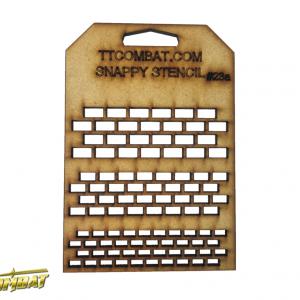 TTCombat   Stencils Small Bricks - SST23A -