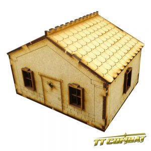 TTCombat   Old Town (28-32mm) Old Town Small House A - OTS003 -