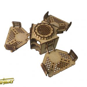 TTCombat   Industrial Hive (28-32mm) Sector 3 - Chem Vat Connector - INH021 - 5060504049160
