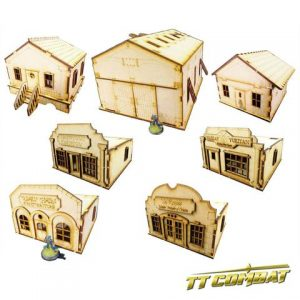 TTCombat   Old Town (28-32mm) Town Set 2 - OTSTS2 -