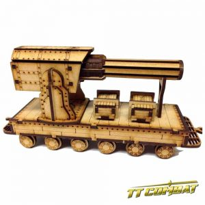 TTCombat   Old Town (28-32mm) Gun Carriage - OTS034 -