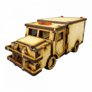TTCombat   City Scenics (28-30mm) Armoured Truck - DCS004 - 5060504040037