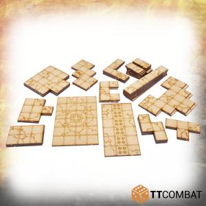 TTCombat   Fantasy Scenics (28-32mm) Dungeon Tiles Set C - TTSCW-RPG-029 - 5060570133749