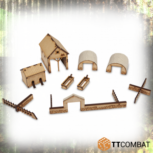 TTCombat   World War Scenics 25mm Farm Accessories - TTSCW-WAR-054 - 5060570134760