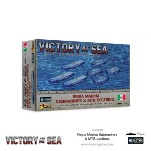 Warlord Games Victory at Sea  Victory at Sea Victory at Sea: Regia Marina Submarines & MTB Sections - 743211009 -