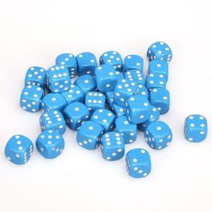 TTCombat   Opaque Dice: Light Blue (12mm) - KDDO15 - 5060570133527