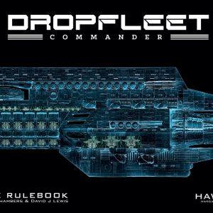 TTCombat   Dropfleet Essentials Dropfleet Commander Rulebook - HDF-10001 - 740781772276