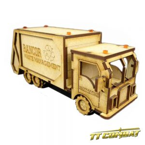 TTCombat   City Scenics (28-30mm) Garbage Truck - DCS006 - 5060504040051