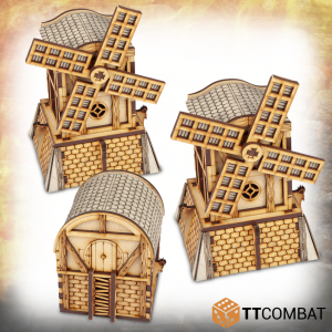 TTCombat   Savage Domain (28-32mm) Savage Domain: Halfling Windmills - TTSCW-FSC-027 - 5060570134210