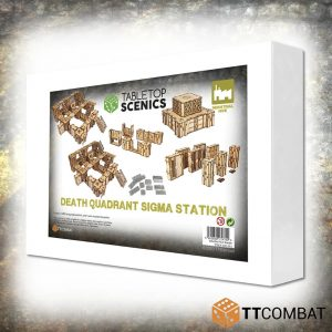 TTCombat   White Box Specials White Box Special: Death Quadrant Sigma Station - TTSCX-EXC-013 - 5060850179740