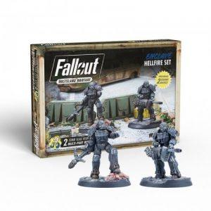 Modiphius Fallout: Wasteland Warfare  Fallout: Wasteland Warfare Fallout: Wasteland Warfare Enclave: Hellfire Set - MUH052035 - 5060523343102