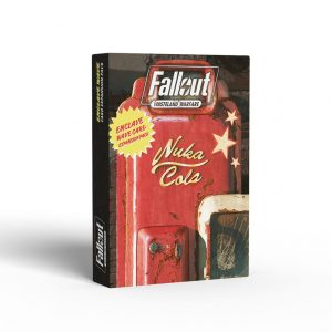 Modiphius Fallout: Wasteland Warfare  Fallout: Wasteland Warfare Fallout: Wasteland Warfare Accessories: Enclave Wave Card Expansion Pack - MUH052001 - 5060523342730