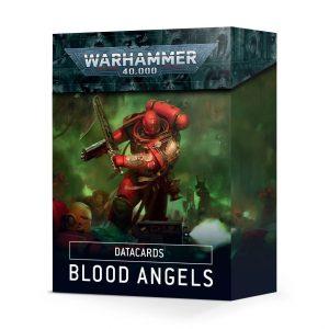 Games Workshop Warhammer 40,000  Blood Angels Datacards: Blood Angels - 60050101004 - 5011921134410