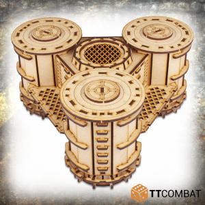 TTCombat   Industrial Hive (28-32mm) Sector 3 - Silo Hub - TTSCW-INH-068 - 5060570138485