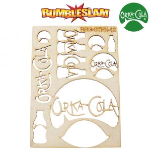 TTCombat   Stencils Orka-Cola Stencil - RSG-STEN-12 -