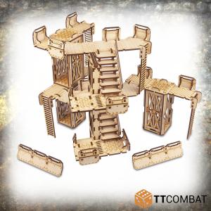 TTCombat   Industrial Hive (28-32mm) Sector 1 - Walkways - TTSCW-INH-061 - 5060570138263