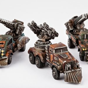 TTCombat   Resistance Land Vehicles Resistance Gun Wagons - DZC-25010 -