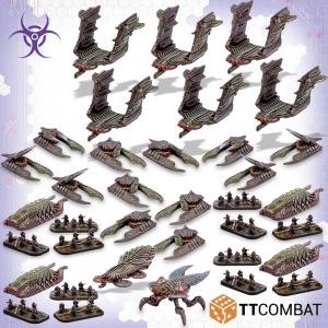 TTCombat Dropzone Commander  Dropzone Commander Essentials Scourge Starter Army (2019) - TTDZX-SCG-001 - 5060570137211
