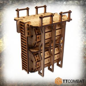 TTCombat   Industrial Hive (28-32mm) Sector 4 - Storage Tanks - TTSCW-INH-044 - 5060570136986