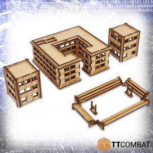 TTCombat   Sci Fi (15mm) Midtown Academy - TTSCW-SFX-058 -