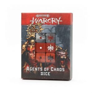 Games Workshop (Direct) Warcry  Warcry Warcry: Agents of Chaos Dice Set - 99220201019 - 5011921144075