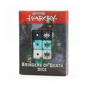 Games Workshop (Direct) Warcry  Warcry Warcry: Bringers of Death Dice Set - 99220207009 - 5011921144082